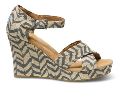 Toms Shoes: Happy in Wedges