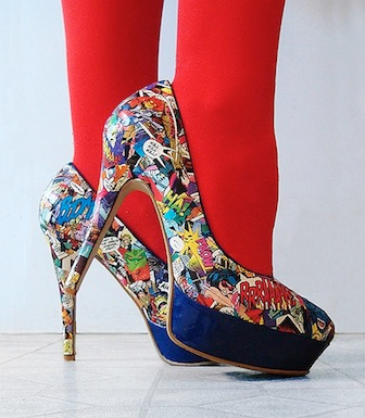ModPodge Heels DIY || The Shoe Dish