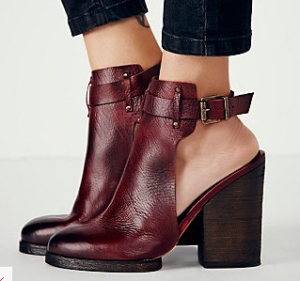 Stacked-Heel Booties #theshoedish