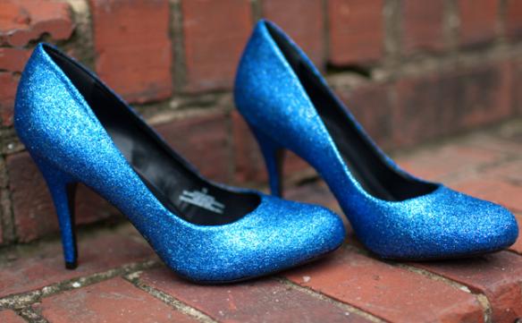 Sequin Heels DIY || The Shoe Dish