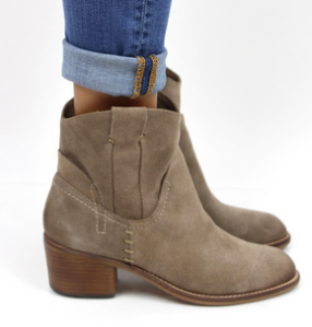Dolce Vita Graham Suede Bootie || The Shoe Dish
