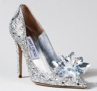 Lily James Jimmy Choo Custom Cinderella Heels || The Shoe Dish