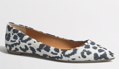 J. Crew Pointed Toe Flats || The Shoe Dish