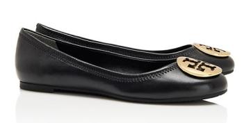 Tory Burch Reva Flats || The Shoe Dish