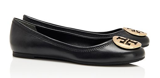 Tory Burch Reva Flats || The Shoe Dish