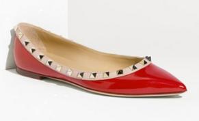 Valentino Rocktsud Ballet Flats || The Shoe Dish